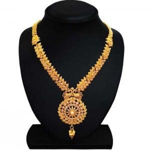 Brass Jewel Set  (Gold)