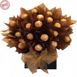 Sweet Chocolate Ferraro rocher bouquet