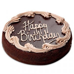 Happy Birthday Chocolate Cake 1kg