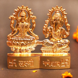 Miniature Laxmi Ganesha