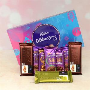Chocolate Celebration with Temptation & Teddy Combo