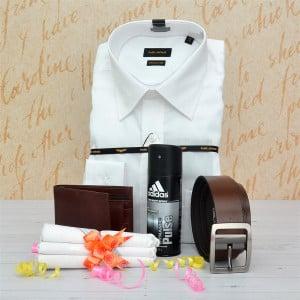 Park Avenue White Shirt Combo