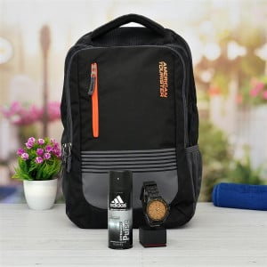 Fastrack With American Tourister