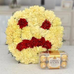 Feeling Sorry Flower & Chocolate Hamper