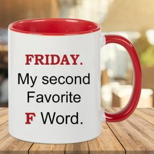 Funny Fridaying Coffee Mug