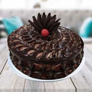 Half kg Chocolate Fudge Cake