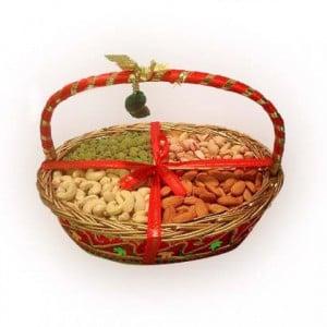 Mixed Dry Fruits Gift Basket