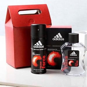 Adidas Team Force Perfume & Deodorant GIft Set