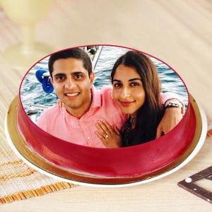 Unconditional Love Photo Cake