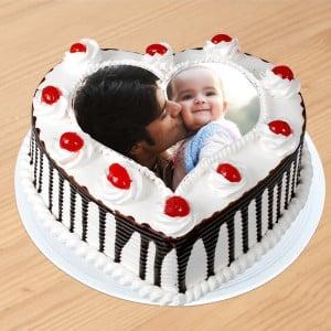 Creamy Black Forest Photo Cake
