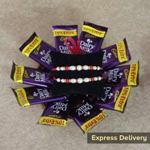 Yummilicious Chocolaty Rakhi