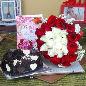 Birthday Cake Delighted Hamper