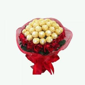 Deep Love Chocolate Bouquet