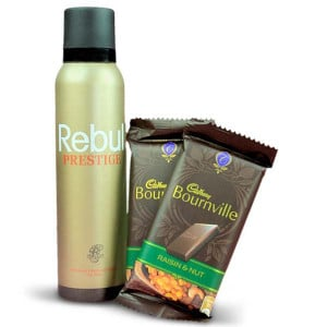 Delicious Chocolates and Deo Hamper