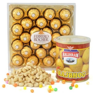 Crunchy Chocolaty And Sweet Combo