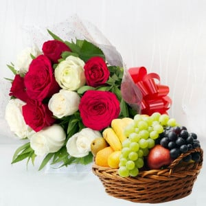 Flowers and fruits Online Delivery