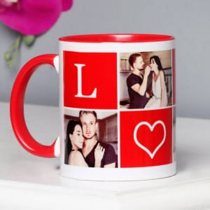 Heart To Heart Personalized Mug