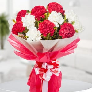 Carnations Bouquet Online
