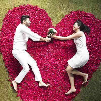 romantic flowers online