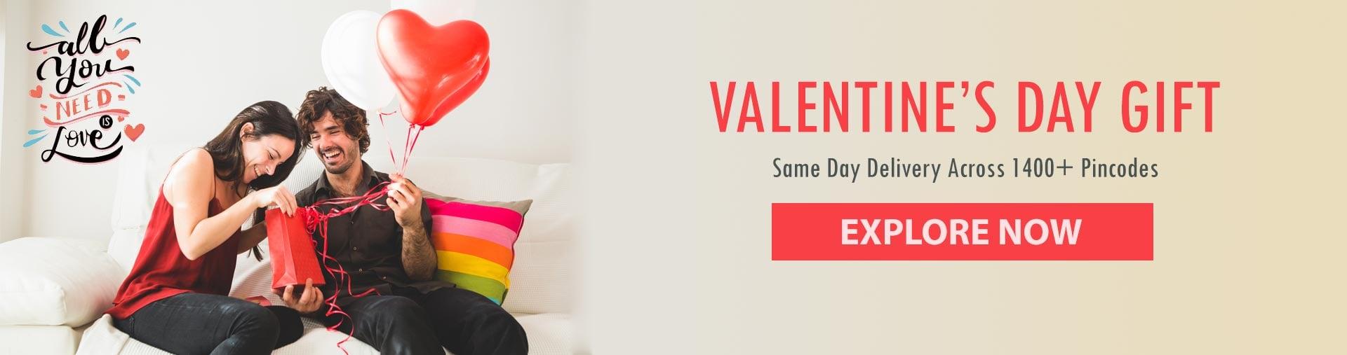 Valentine Express Gifts Online
